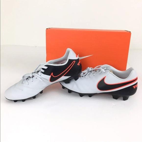 de5f87868 NEW Nike Tiempo Genio II FG Soccer Cleats Size 10
